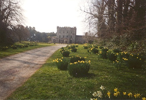 Springtime Entrance to Castle