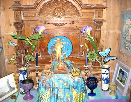 Shrine of Libra in Well Chapel