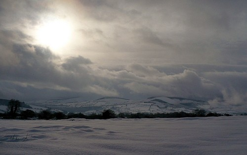 Mt. Leinster in the Snow