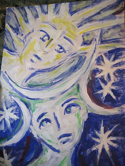 Star Children Painting
