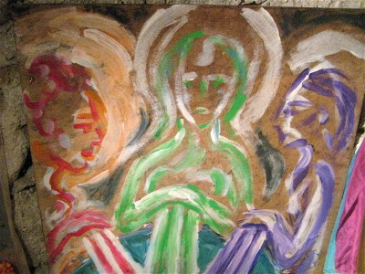 The Three Mothers Painting